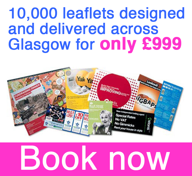 10,000-leaflets-printed-and-delivered-across-Glasgow